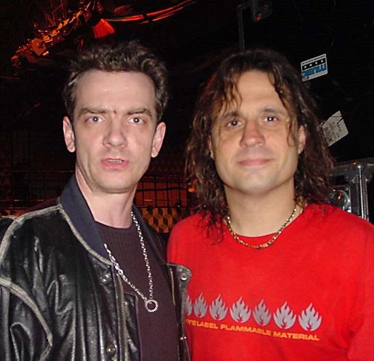 Dave Lombardo /Slayer/ & Piotr Luczyk